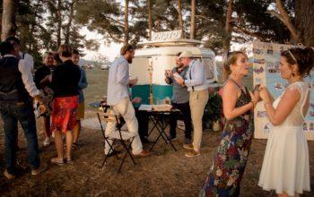 Un mariage avec la caravane